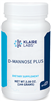 D-Mannose Plus - Klaire Labs (Formerly Complementary Prescriptions) 5 oz [144 g] (0.21 lbs)