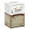 Tea - Organic White Peony Tea - Choice 16 Bags (0.21 lbs)