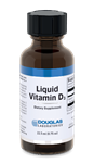 Vitamin D - Liquid Vitamin D3 - Douglas Labs 25 mcg 22.5 ml [0.75 oz] (0.21 lbs)