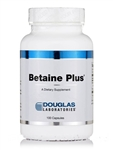 Betaine Plus - Pepsin - Douglas Labs 496/140 mg 100 caps (0.29 lbs)