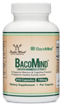 Bacomind Bacopa Extract - Double Wood Supplements 150 mg 210 caps (0.85 lbs)