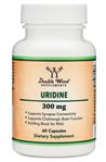 Uridine - Double Wood Supplements 300 mg 60 caps (0.25 lbs)