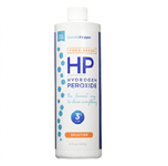 Hydrogen Peroxide Solution 3% Food Grade - Essential Oxygen 16 oz (1.22 lbs)