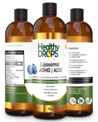 Liposomal ADHD / ADD - SPECIAL ORDER - Healthy Drops 16 fl. oz. [473 mL] (1.25 lbs)