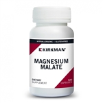 Magnesium Malate Hypoallergenic - Kirkman Labs 1000 mg (200 mg elemental) 120 caps (0.38 lbs)