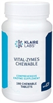 Enzymes - Vital-Zymes Chewable - Klaire Labs 180 chewable tabs (0.26 lbs)