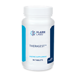Enzymes - TheraGest - Klaire Labs 90 tabs (0.17 lbs)