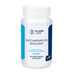 Probiotic - Saccharomyces boulardii -  DOES NOT NEED REFRIGERATED - Klaire Labs 60 vcaps (0.09 lbs)