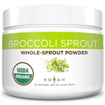 Organic Broccoli Sprout Powder - Koyah 4.30 oz (122 grams) (0.35 lbs)