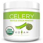 Organic Celery Powder - Koyah 4.40 oz (125 grams) (0.35 lbs)