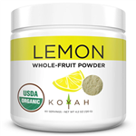 Organic Lemon Powder - Koyah 4.2 oz (120 grams) (0.40 lbs)