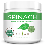 Organic Spinach Powder - Koyah 2.9 oz (81 grams) (0.35 lbs)