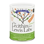 Lecithin Granules, Natural Soya- Lewis Labs 16 oz (1.15 lbs)