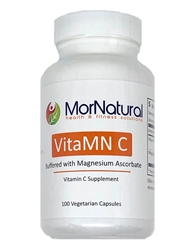 VitaMN C - (Temporarily Unavailable) Vitamin C from Magnesium Ascorbate - MorNatural 500 mg 100 vcaps (0.28 lbs)