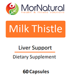 Milk Thistle - MorNatural 250 mg 60 caps (0.09 lbs)
