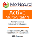 Active Multi-VitaMN - (Replaces VitalActiv) MorNatural 120 vcaps (0.26 lbs)