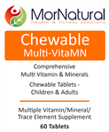 Chewable Multi-VitaMN - MorNatural 60 tabs (0.42 lbs)