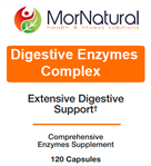 Enzymes - Digestive Enzymes Complex (Replaces Vital-Zymes Complete - Klaire Labs)- MorNatural 120 vcaps (0.21 lbs)