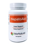 HepatoAid (Replaces HepatoThera) - MorNatural 60 vcaps (0.17 lbs)