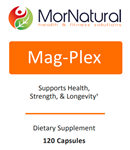 Magnesium - Mag-Plex - (Replaces Mag Complete - Klaire Labs) MorNatural 120 mg 120 caps (0.36 lbs)