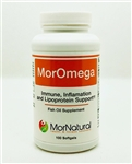 MorOmega Fish Oil Concentrate - MorNatural 1 g 100 Softgels (0.42 lbs)