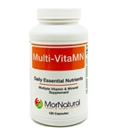 Multi VitaMN Multi Vitamins & Minerals - (Temporarily Unavailable) MorNatural 120 vcaps (0.30 lbs)