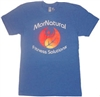 Fitness T-Shirts - MorNatural Blue Color (0.30 lbs)