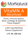 Liquid Vitamin A - VitaMN A Micellized Liquid - (Replaces Klaire) MorNatural 30 ml [1 fl oz] (0.20 lbs)