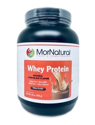 Whey Protein Nutrition Shake - Creamy Chocolate - MorNatural 908 g [32 oz] (2.30 lbs)