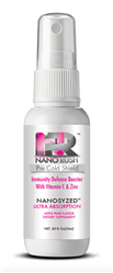 Pre Cold Shield Sublingual Spray - Immune Booster with Vitamin C and Zinc - Apple Pear Flavor - Nano Rush 0.88 fl oz (0.12 lbs)