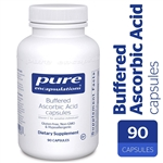 Vitamin C - Buffered Ascorbic Acid - Pure Encapsulations 670 mg 90 vcaps (0.32 lbs)