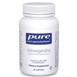 Ashwagandha Root Extract (standardized) - Pure Encapsulations 500 mg 60 caps (0.17 lbs)