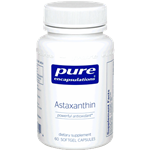 Astaxanthin - Pure Encapsulations 4 mg 60 softgels (0.15 lbs)