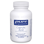 Caprylic Acid - Pure Encapsulations 120 caps (0.35 lbs)