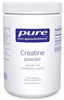 Creatine monohydrate powder - Pure Encapsulations 500 g (1.29 lbs)