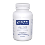 Vitamin C - Essential-C & flavonoids (formerly Ester C & Flavonoids) - Pure Encapsulations 90 vcaps (0.31 lbs)