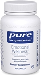 Emotional Wellness - Pure Encapsulations 60 caps (0.18 lbs)