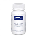Folate 1000 - Pure Encapsulations 90 caps (0.08 lbs)