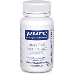 Grapefruit Seed Extract - Pure Encapsulations 60 caps (0.07 lbs)