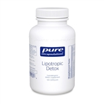 Lipotropic Detox - Pure Encapsulations 120 caps (0.31 lbs)