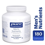 Men's Nutrients - Pure Encapsulations 180 caps (0.44 lbs)
