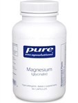 Magnesium Glycinate - Pure Encapsulations 120 mg 90 vcaps (0.32 lbs)