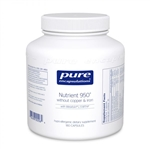 Multi Nutrient 950 without Copper and Iron - SPECIAL ORDER - Pure Encapsulations 180 caps (0.50 lbs) **SPECIAL ORDER**