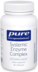 Systemic Enzyme Complex - Pure Encapsulations 180 vcaps (0.40 lbs)