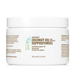 Ozonated Coconut with Vitamin E Suppositories - PurO3 30 count (0.32 lbs)