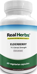 Elderberry Extract - Real Herbs - 60 vcaps (0.14 lbs)