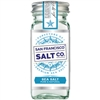Sea Salt (Gourmet), Pure & Natural Fine Ground - SFSC - 4 oz shaker jar (0.45 lbs)