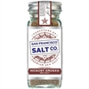 Sea Salt (Gourmet), Smoked Hickorywood Fine Ground - SFSC - 4 oz shaker jar (0.45 lbs)