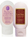 Protect & Restore Cream Classic (2 oz) + LacSal Cream (2 oz) - Skin Biology 4 oz (0.37 lbs)