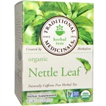 Tea - Organic Nettle Leaf - Traditional Medicinals 16 tea bags (0.15 lbs)